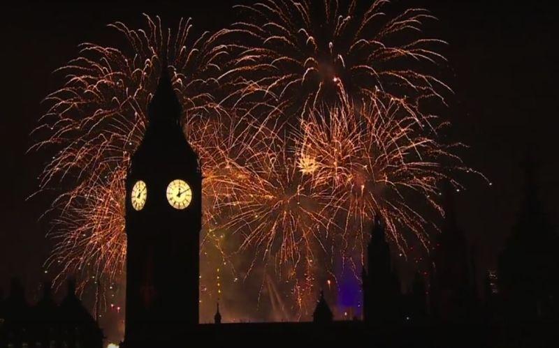 NYE fireworks LDN 16-17