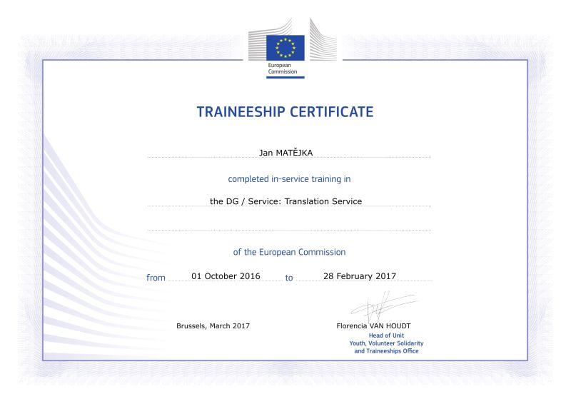 EU certification