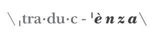 logo Traducenza def