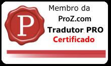 Tradutor PRO Certificado