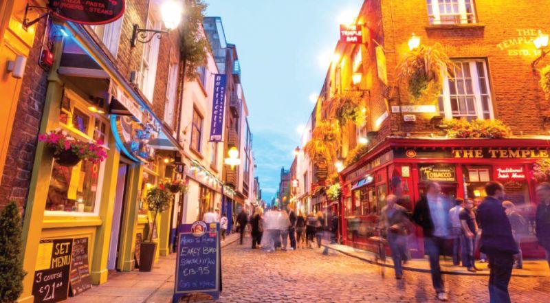 postal Irlanda - frente