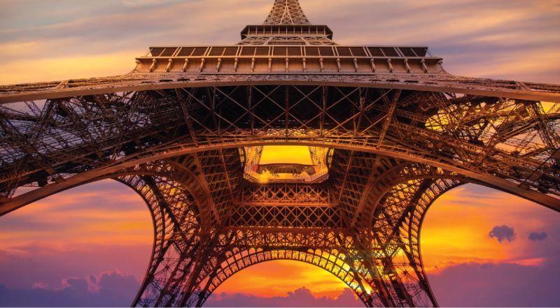 postal França - frente
