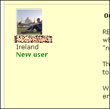 new user proz