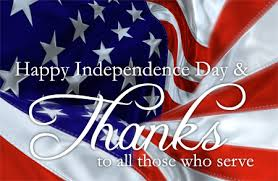 Happy Independence Day To All Who Served