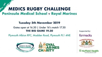 Medics Rugby Challenge 2019 poster