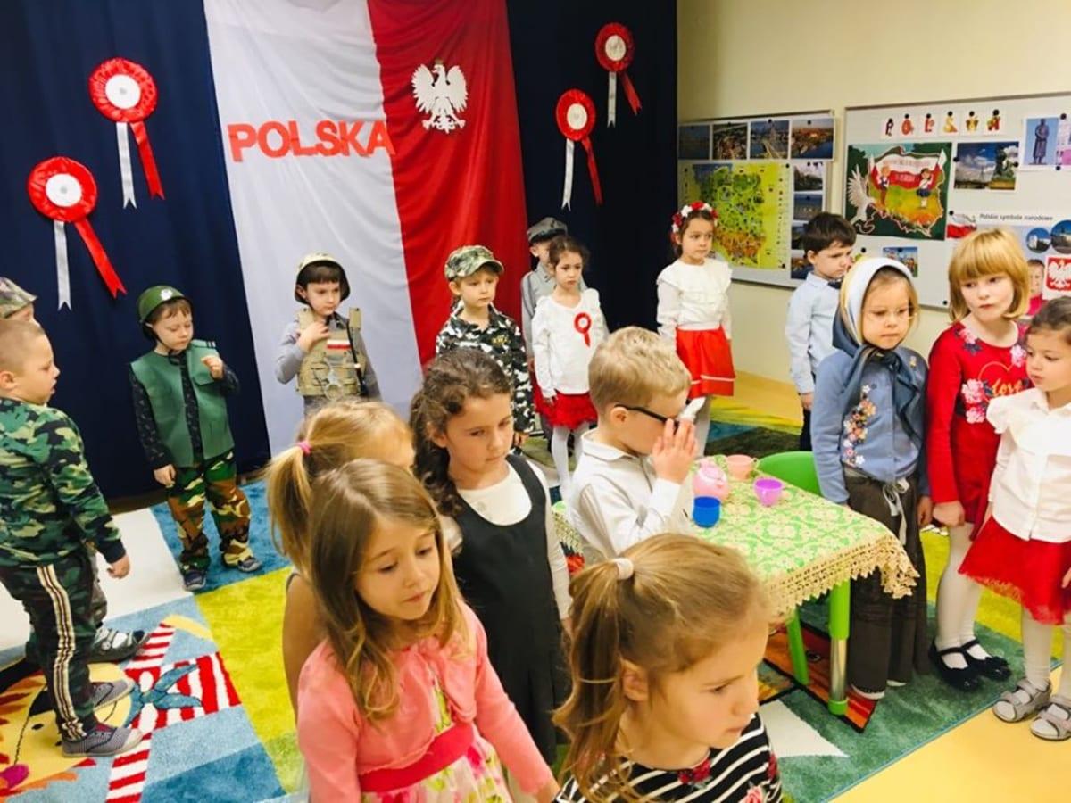 Osoby podczas wydarzenia pt.Święto Niepodległości