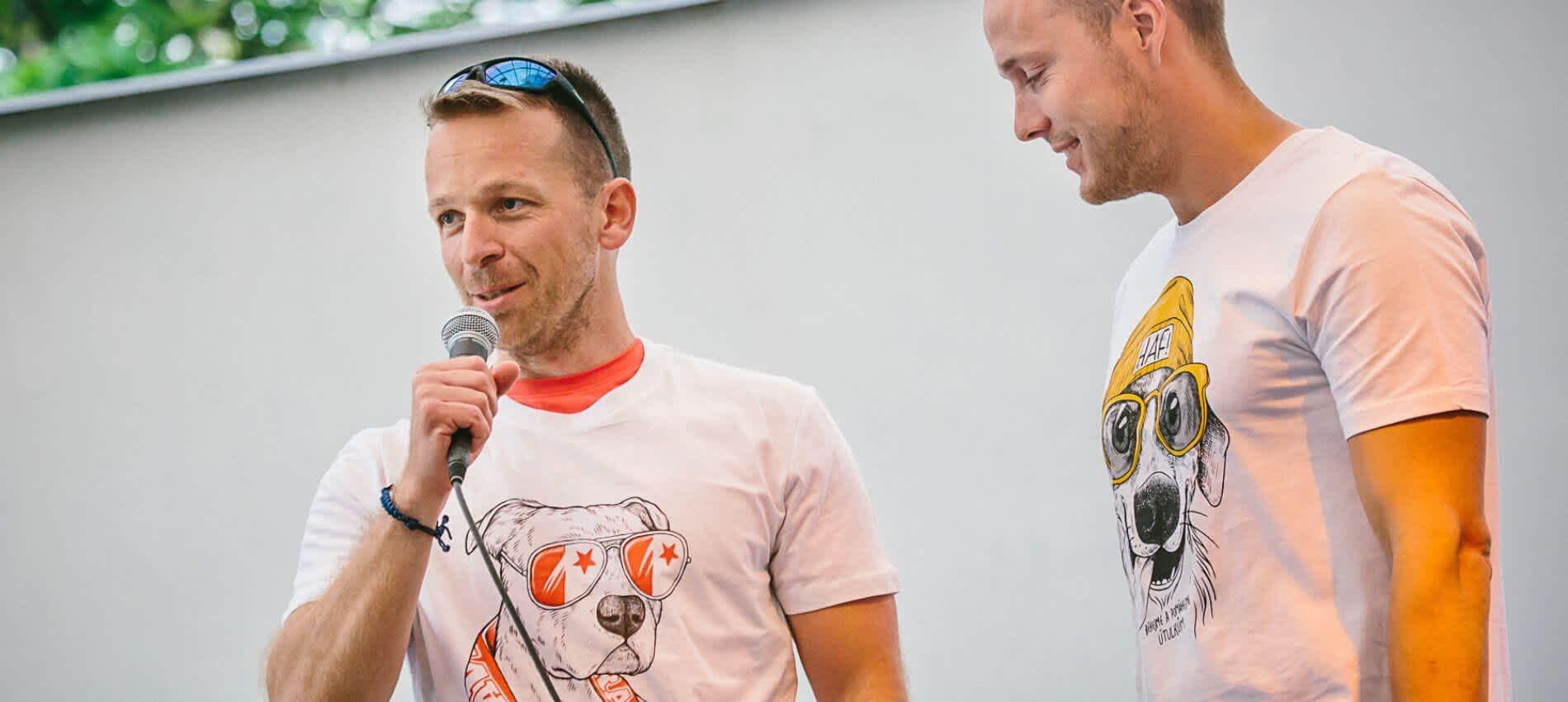 Běh pro útulky Petr Sokolík