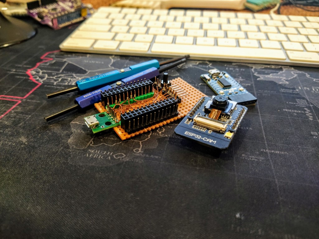Dev board and some wire wrap tools