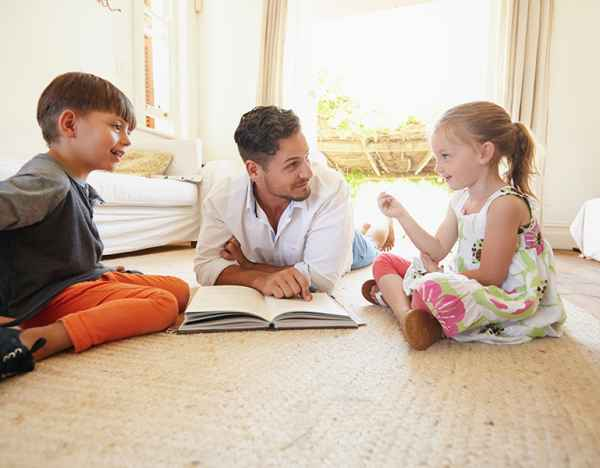 How building your child's spoken word bank can boost their capacity to read
