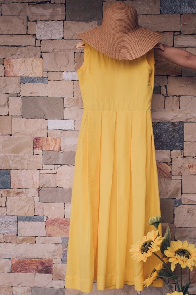The Sunflower Yellow Summer Dress