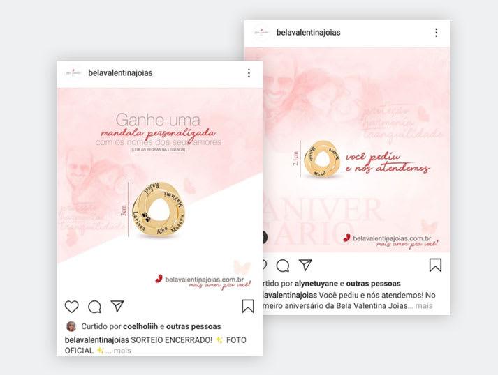 Instagram Bela Valentina Joias