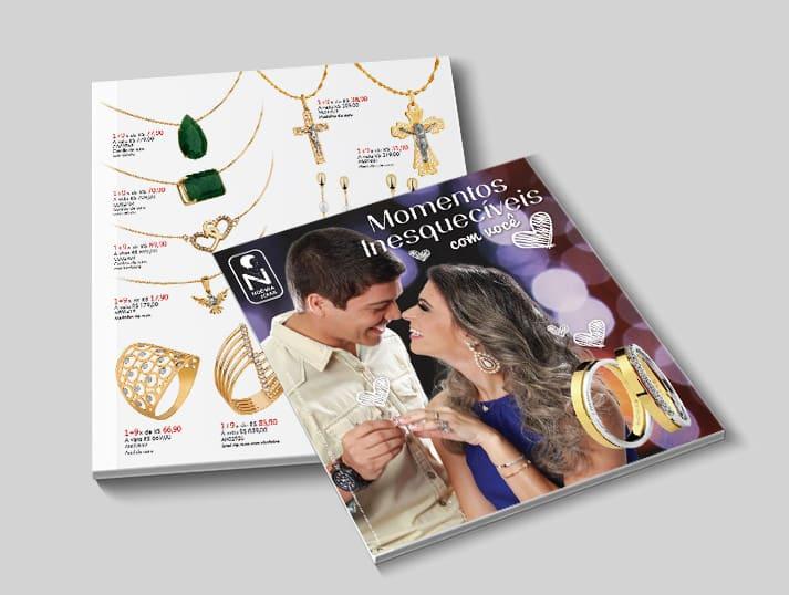 capa catálogo dia dos namorados Noêmia Joias