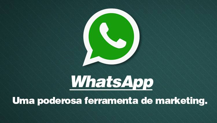 whatsapp ferramenta de marketing