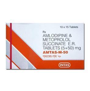 Amtas M 50 mg Tablet