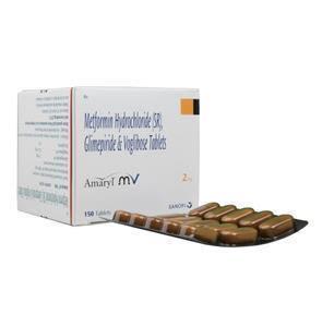 Amaryl MV 2 mg Tablet