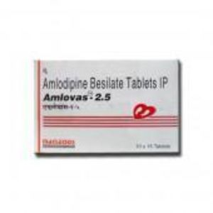 Amlovas 2.5 mg Tablet