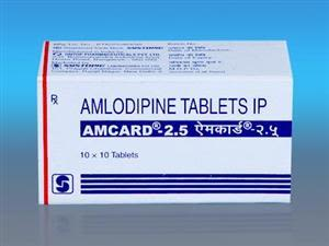 Amcard 2.5 mg Tablet