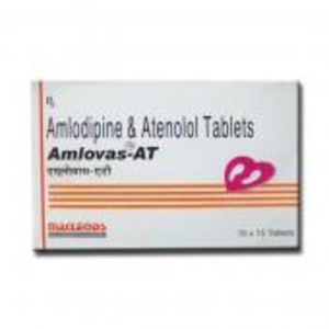 Amlovas AT 50 mg Tablet