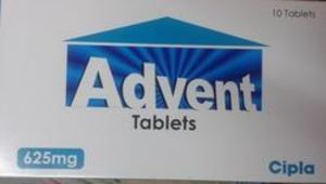 Advent 625 mg Tablet