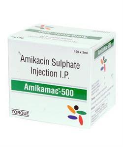 Amikamac 100 mg Injection 2 ml