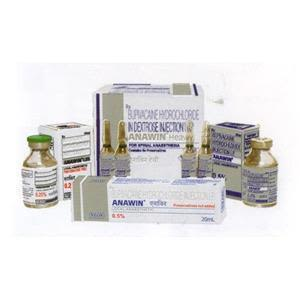 Anawin Injection 20 ml Vial 0.25%