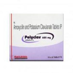 Polyclav 625 mg Tablet 6's