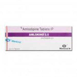 Amlokind 2.5 mg Tablet