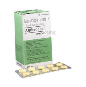 Alphadopa [Aldomet] Tablet