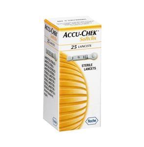 Accuchek Sugar Test Lancet 25's