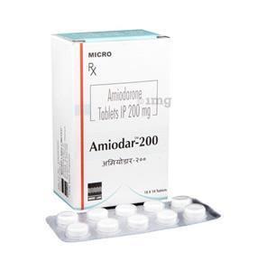 Amiodar 200 mg Tablet