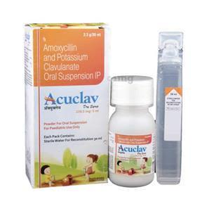 Acuclav Dry Syrup 30 ml