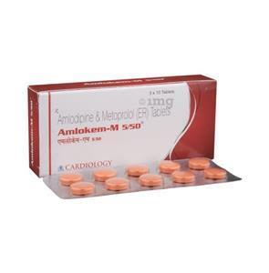 Amlokem M 5/50 Tablet