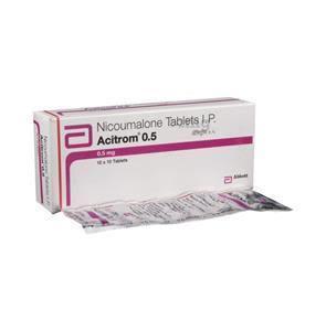 Acitrom 0.5 mg Tablet