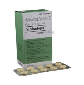 Alphadopa 500 mg Tablet