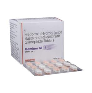 Geminor M 1 mg Tablet