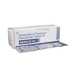 Moxclav 625 mg Tablet 1