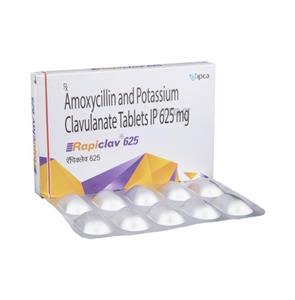 Rapiclav 625 Tablet
