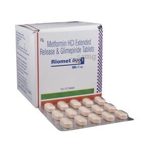 Riomet Duo 1 mg Tablet