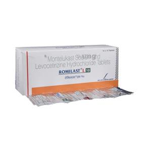 Romilast L 10 mg 10's Tablet
