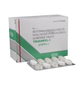 Trizoryl 1 mg Tablet