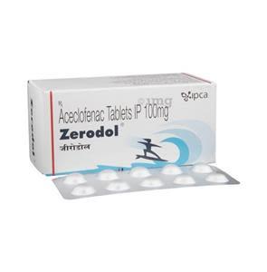 Zerodol 100 mg Tablet