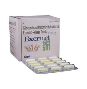 Exermet gm 501 Tablet