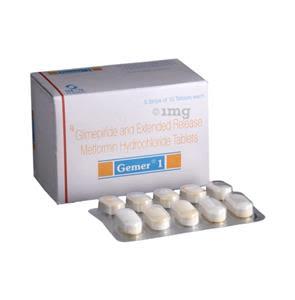 Gemer 1 mg Tablet