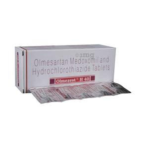 Olmezest h 20 mg or 12.5 mg hydroxide
