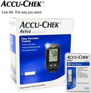 Accuchek Aviva Sugar Test Glucometer