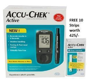 Accuchek Active Sugar Test Kit
