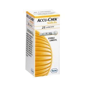 Accuchek Sugar Test Lancet 25's