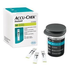 Accuchek Instant Sugar Test Strips 50's