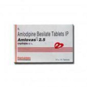 Amlovas 2.5 mg Tablet