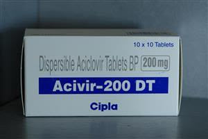 Acivir 200 mg DT Tablet